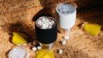 """ASOBU Двустенна термо чаша """"IMPERIAL COFFEЕ"""" - 300 мл - цвят черен/инокс"""