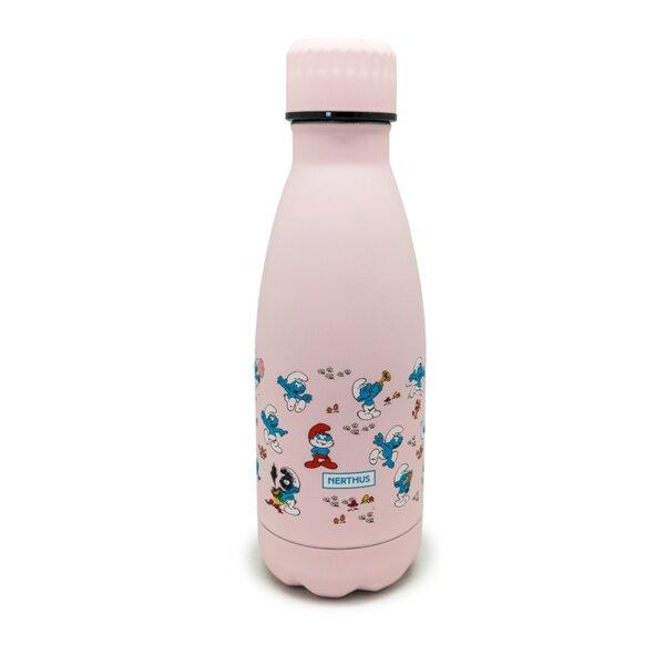 Термос THE SMURFS™ цвят розов - 350 мл.