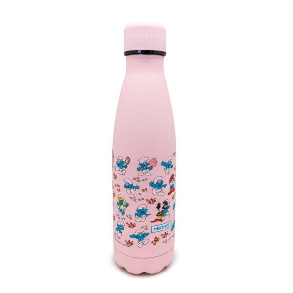 Термос THE SMURFS™ цвят розов - 500 мл.