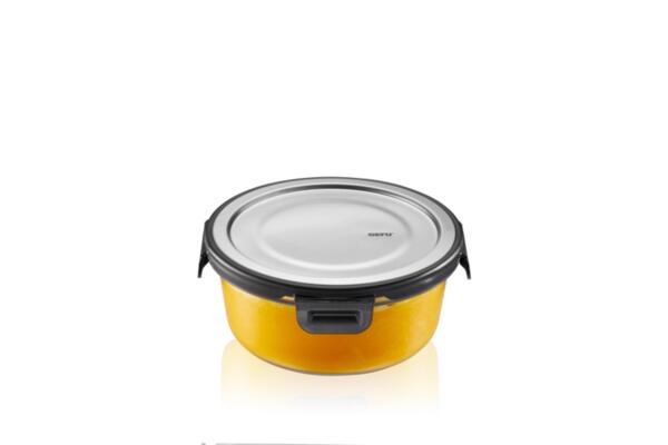 """GEFU Кръгла стъклена кутия за храна """"MILO"""" - 600 мл."""