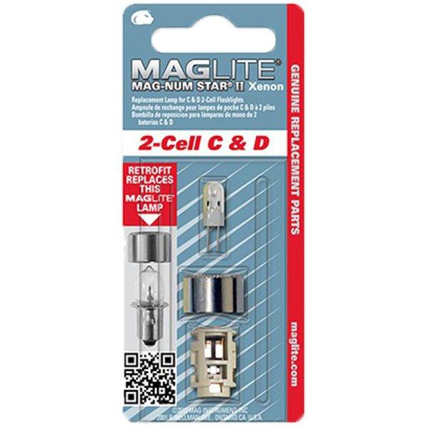 Резервна ксенонова крушка за фенер Maglite 2-Cell C & D