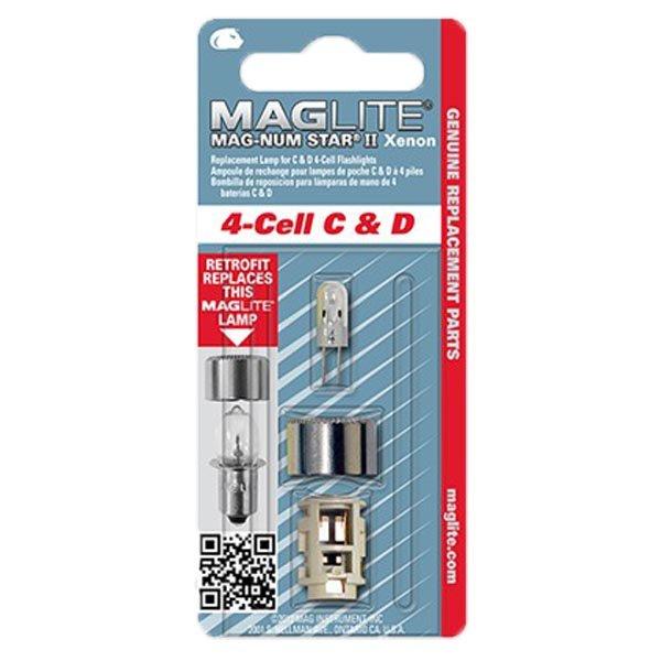 Резервна ксенонова крушка за фенер Maglite 4-Cell C & D