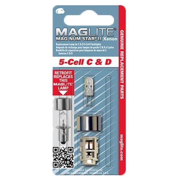 Резервна ксенонова крушка за фенер Maglite 5-Cell C & D