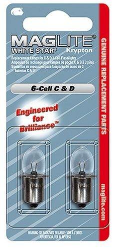Резервна криптонова крушка за фенер Maglite 6-Cell C & D