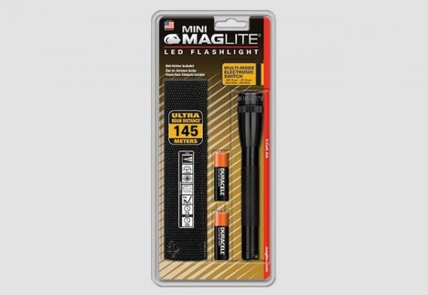 Mini MAGLITE LED фенер с две батерии АА