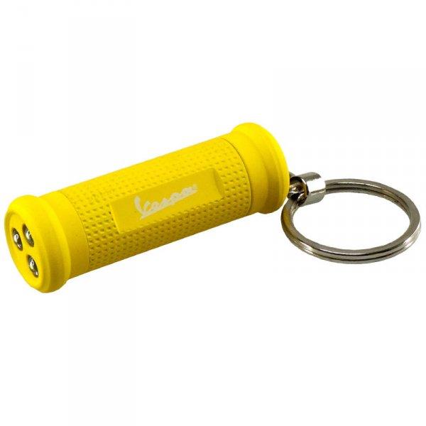Ключодържател LED фенерче Vespa , жълт