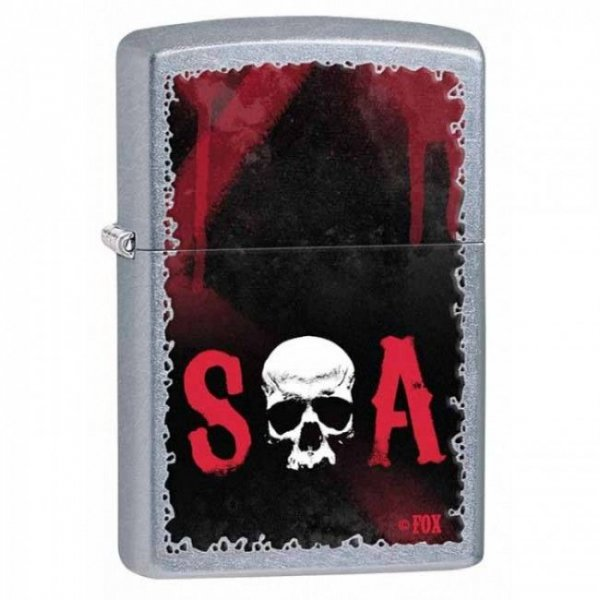 Запалка Zippo Street Chrome Sons of Anarchy