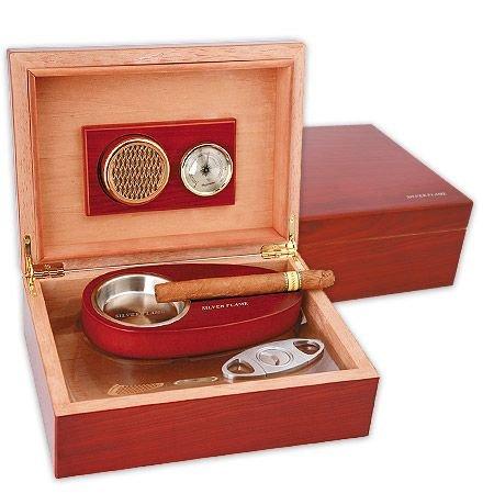 Кутия за пури SILVER FLAME, червена