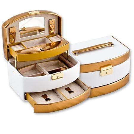 Кутия за бижута Wihte+Gold