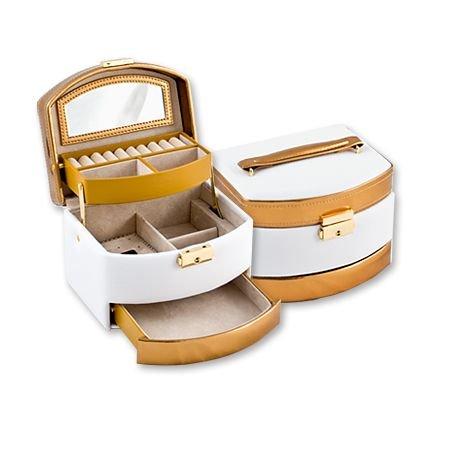 Кутия за бижута Wihte+Gold средна