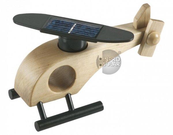 Хеликоптер със слънчево захранване, дървен