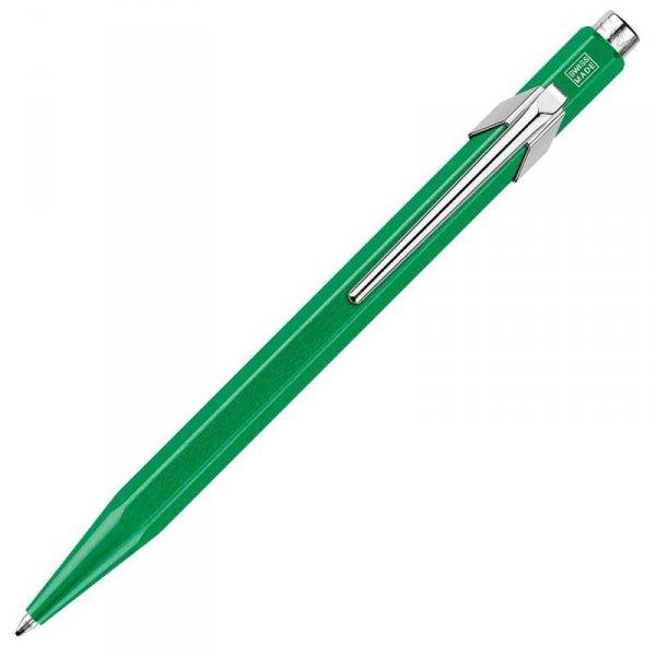Химикалка Caran d'Ache 849 Pop Line Collection - Metallic Line, зелен