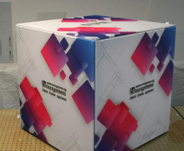Куб с текстил