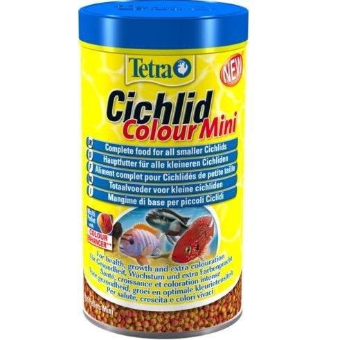 Храна за цихлиди за подсилване на цветовете Tetra Cichlid Colour Mini