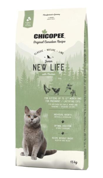 Храна за котка Chicopee Classic Nature Line Kitten до 12 месеца