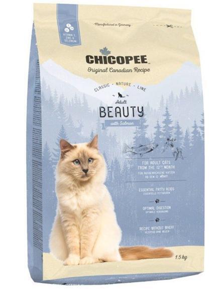 Храна за котка Chicopee Classic Nature Line Adult Beauty за красива козина