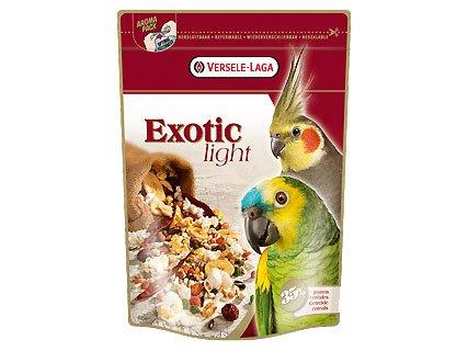 Храна за големи папагали с пуканки и зърна EXOTIC LIGHT