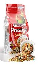 Допълваща храна за средни и големи папагали с плодове и яйца Prestige Snack Parakeets