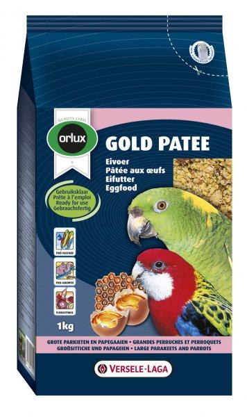 Мека яйчна храна за средни и големи папагали Gold Patee Parakeet and Parrots