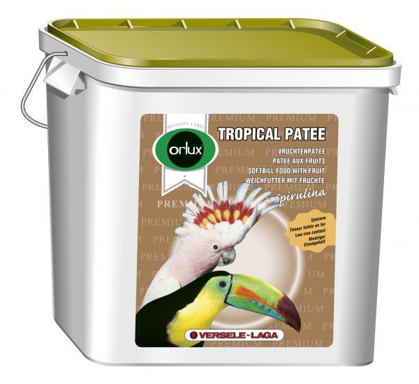 Мека пълноценна храна за плодоядни птици Tropical Patee Premium