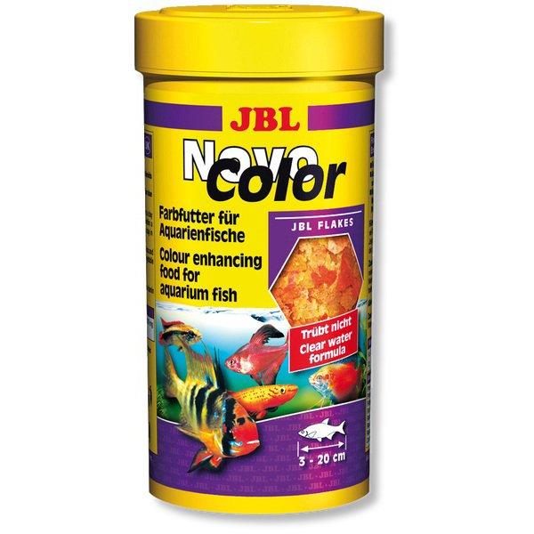Храна за подсилване цветовете на декоративни рибки JBL NOVO COLOR