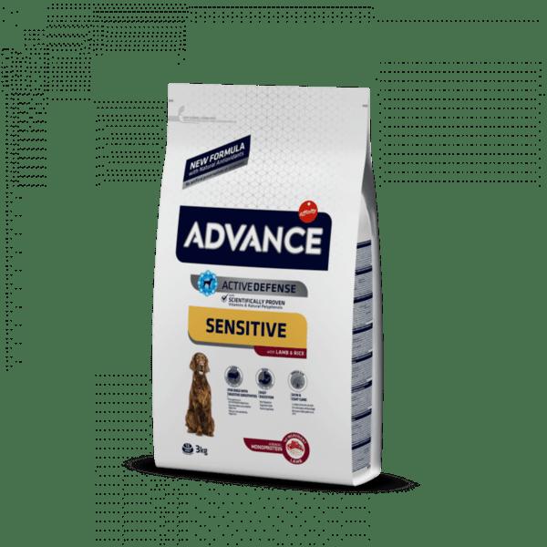 ADVANCE храна с агнешко и ориз за кучета над 1 година
