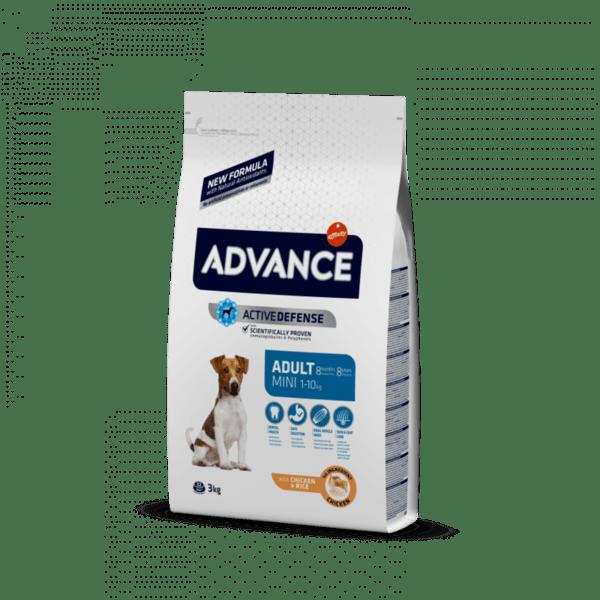 ADVANCE MINI ADULT храна за кучета от 8 месеца до 8 години