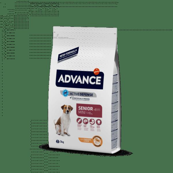 ADVANCE MINI SENIOR храна за кучета над 8 години