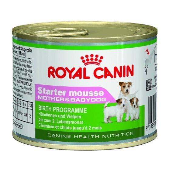 ROYAL CANIN STARTER MOUSSE пастет за подрастващи, бременни и кърмещи кучета