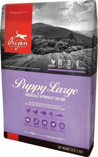 ORIJEN Puppy Large храна за кучета до 12-месечна възраст от големи породи