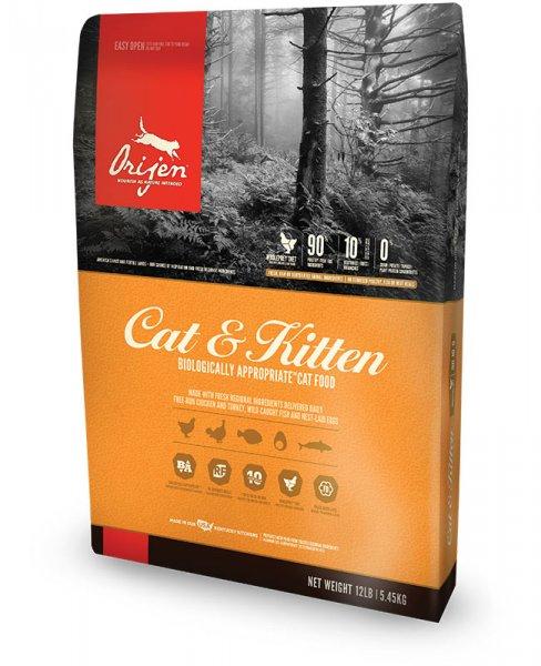 ORIJEN CAT & KITTEN храна за котки над 2 месеца