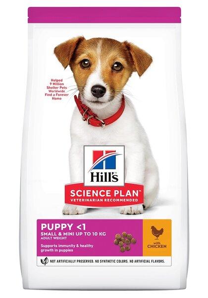 SP Canine Puppy Small & Miniature храна за кучета от дребни и миниатюрни породи с пилешко и пуешко