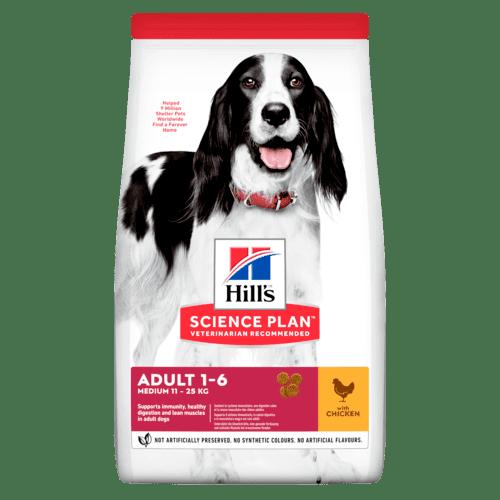 SP Canine Adult Advance Fitness Medium храна за кучета от средни породи  до 25 г. с умерени енергийни нужди от 1 до 7 г.
