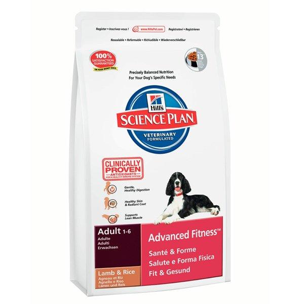 SP Canine Adult Advance Fitness Lamb & Rice храна за кучета от дребни и средни породи с агнешко и ориз