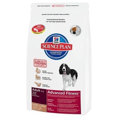 SP Canine Adult Advance Fitness Large Breed Lamb & Rice суха храна за кучета от едри породи