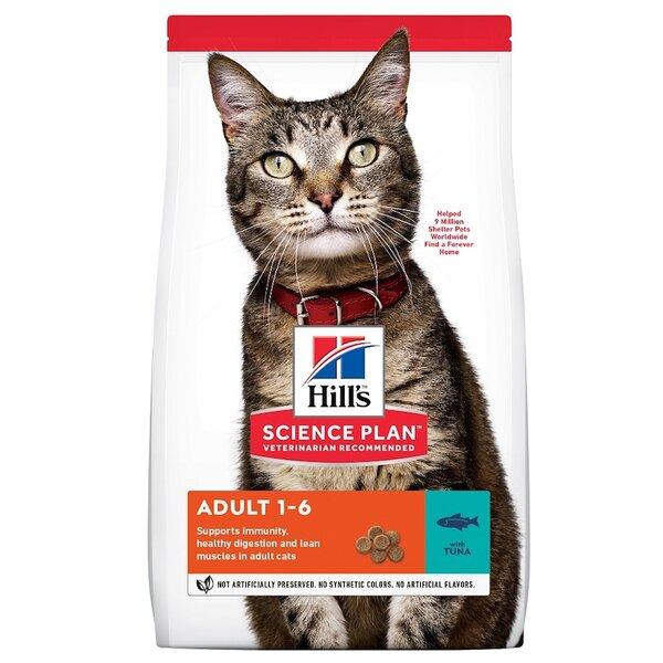 Hills SP Feline Adult Tuna суха храна за котки с риба тон