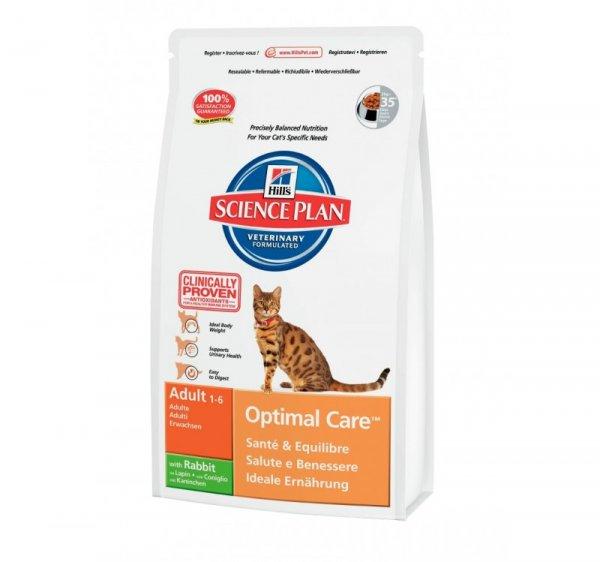 SP Feline Adult Optimal Care Rabbit суха храна за котки с заешко месо