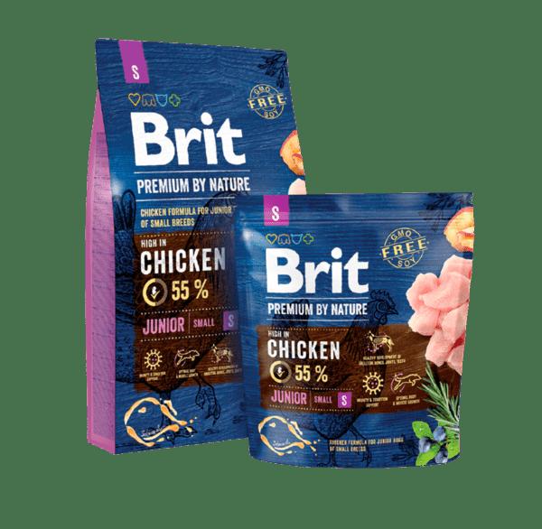 BRIT JUNIOR PREMIUM S суха храна за малки кучета от дребни породи