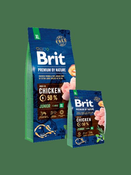 BRIT JUNIOR PREMIUM XL суха храна за малки кучета от гигантски породи
