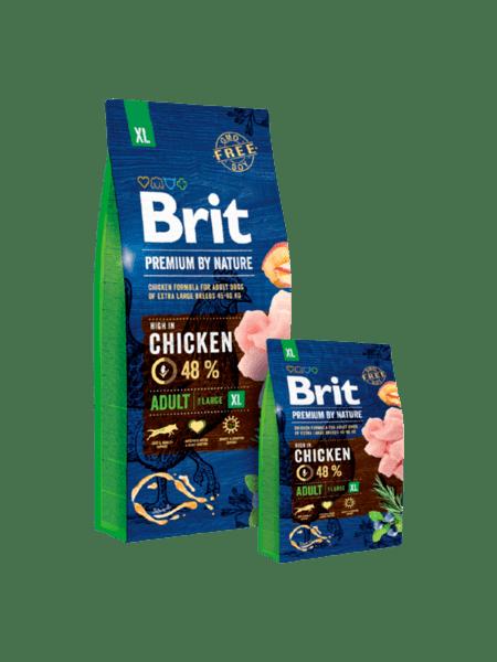 BRIT ADULT PREMIUM XL суха храна за израстнали кучета от гигантски породи