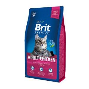 BRIT PREMIUM ADULT CHICKEN - Пълноценна храна за котки с пиле