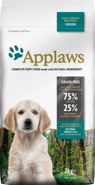 Applaws Puppy Small Medium Breed Chicken суха храна за подрастващите кучета от малки и средни породи