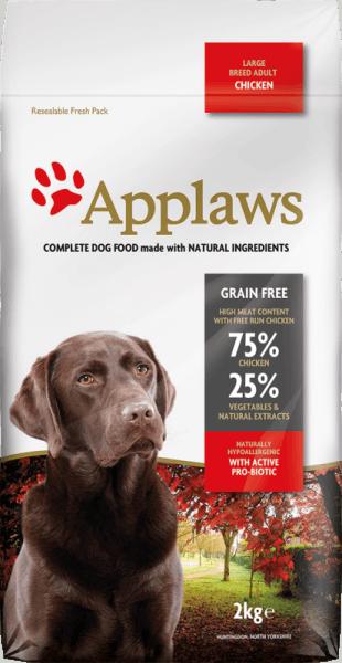 Applaws Adult Large Breed Chicken суха храна за  кучета над 1 година от големи породи