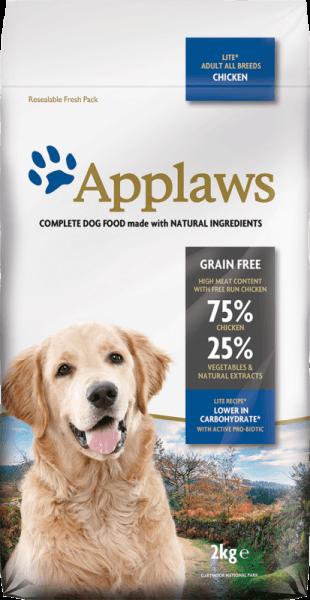 Applaws Adult All Breeds Lite суха храна за кучета с наднормено тегло над 1 година
