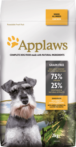Applaws Senior All Breeds суха храна за въстрасни кучета от всички породи