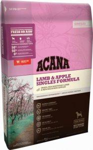 Acana Singles Lamb & Okangan Apple - с агнешко и червени ябълки  за кучета над 12 месеца, подходяща за всички породи 11.4кг.