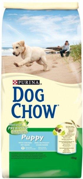 DOG CHOW PUPPY храна за кучета с пиле и ориз