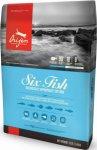 ORIJEN SIX FISH храна с 6 вида риба за котки над 1 година