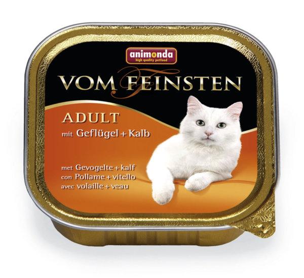 Пастет за израснали котки Von Feinsten Adult, 100гр от Animonda, Германия