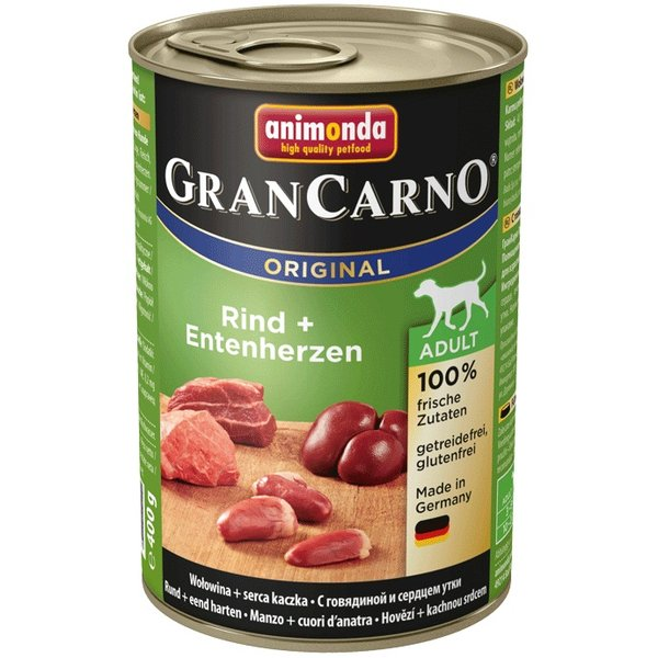 GranCarno® Adult - консерви 100% прясно месо за израснали кучета различни вкусове